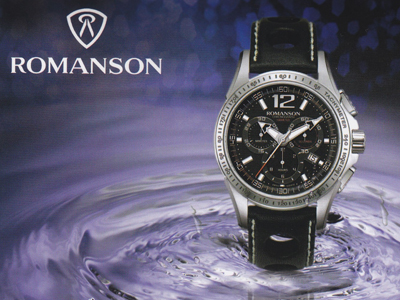 ROMANSON WATCHES and VAN DER BAUWEDE
